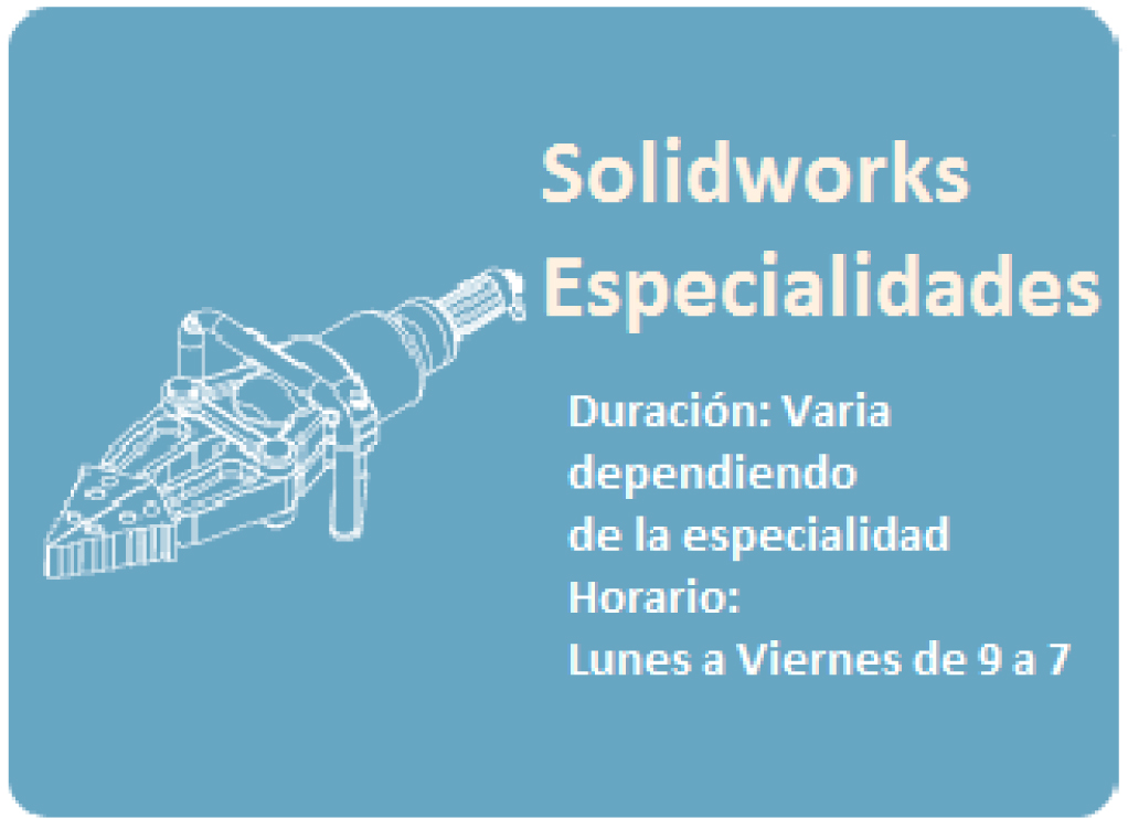 SOLIDWORKS ESPECIALIZADO